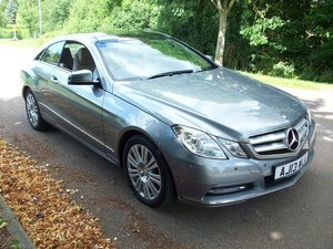 2013 Mercedes Benz E350CDI Blue Efficiency Coupe SOLD