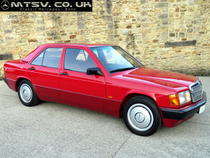1992 Mercedes W201 190D 2.0 - Just 39K Miles  - An Incredible Car For Sale