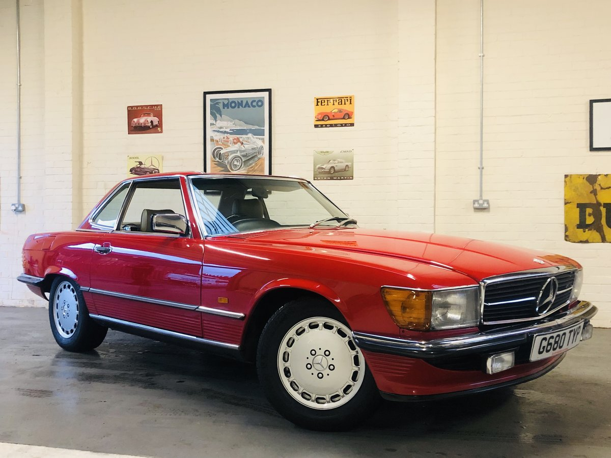 1989 420SL 420 SL R107 - AMAZING CONDITION, LAST OF THE LINE SOLD (picture 1 of 6)