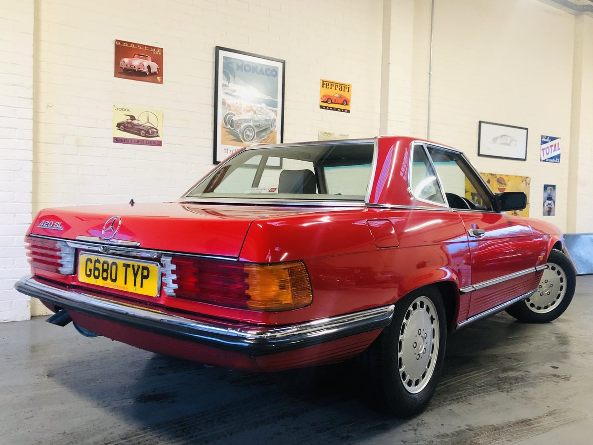 1989 420SL 420 SL R107 - AMAZING CONDITION, LAST OF THE LINE SOLD (picture 2 of 6)
