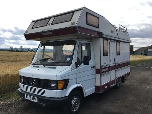 1985 Mercedes Autotrail Cherokee Motorhome at Morris Leslie  SOLD by Auction (picture 1 of 6)