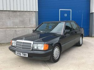 Picture of 1990 Mercedes 190E Japanese Import at Morris leslie Auction SOLD by Auction