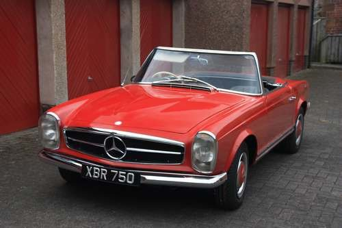 1964 Mercedes 230 SL at Morris Leslie Auction 17th August SOLD by Auction (picture 1 of 6)