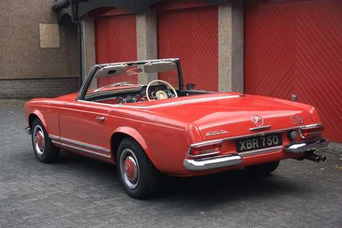 1964 Mercedes 230 SL at Morris Leslie Auction 17th August SOLD by Auction (picture 2 of 6)