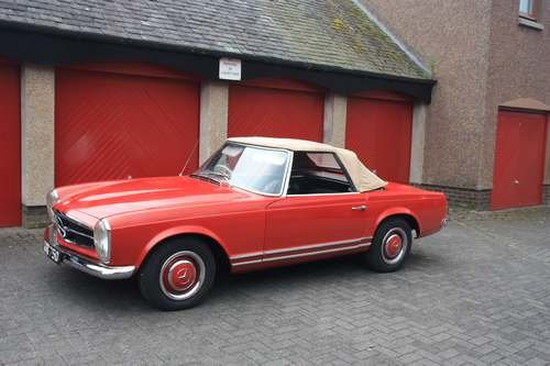 1964 Mercedes 230 SL at Morris Leslie Auction 17th August SOLD by Auction (picture 3 of 6)