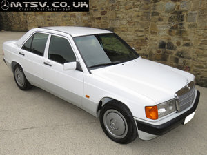 1991 Mercedes 190E 5sp Manual - Just 61K  - Superb History For Sale