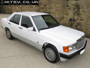 1991 Mercedes 190E 5sp Manual - Just 61K  - Superb History For Sale