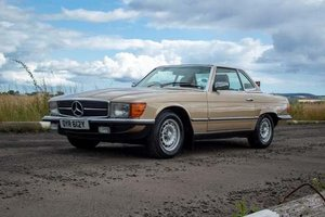 1983 Mercedes 280SL Auto at Morris Leslie Auction 17th August For Sale by Auction