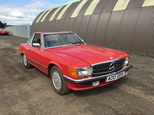 1978 Mercedes 350 SL Auto at Morris Leslie Auction 17th August SOLD by Auction (picture 1 of 6)