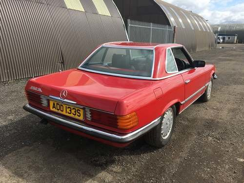 1978 Mercedes 350 SL Auto at Morris Leslie Auction 17th August SOLD by Auction (picture 3 of 6)