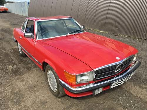 1978 Mercedes 350 SL Auto at Morris Leslie Auction 17th August SOLD by Auction (picture 4 of 6)