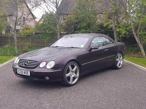 2001 Mercedes CL500 at Morris Leslie Auction 17th August For Sale by Auction