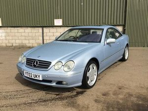 2002 Mercedes CL500 Auto at Morris Leslie Auction 17th August For Sale by Auction