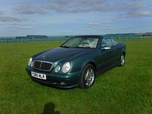 2001 Mercedes CLK230 at Morris Leslie Auction 17th August For Sale by Auction