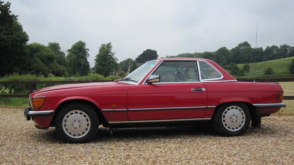 1987 Merecedes R107 SL500 NOW SOLD   For Sale (picture 1 of 2)