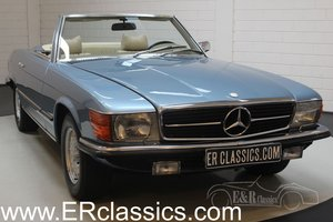 Mercedes-Benz 280SL 1975 Hellblau metallic For Sale