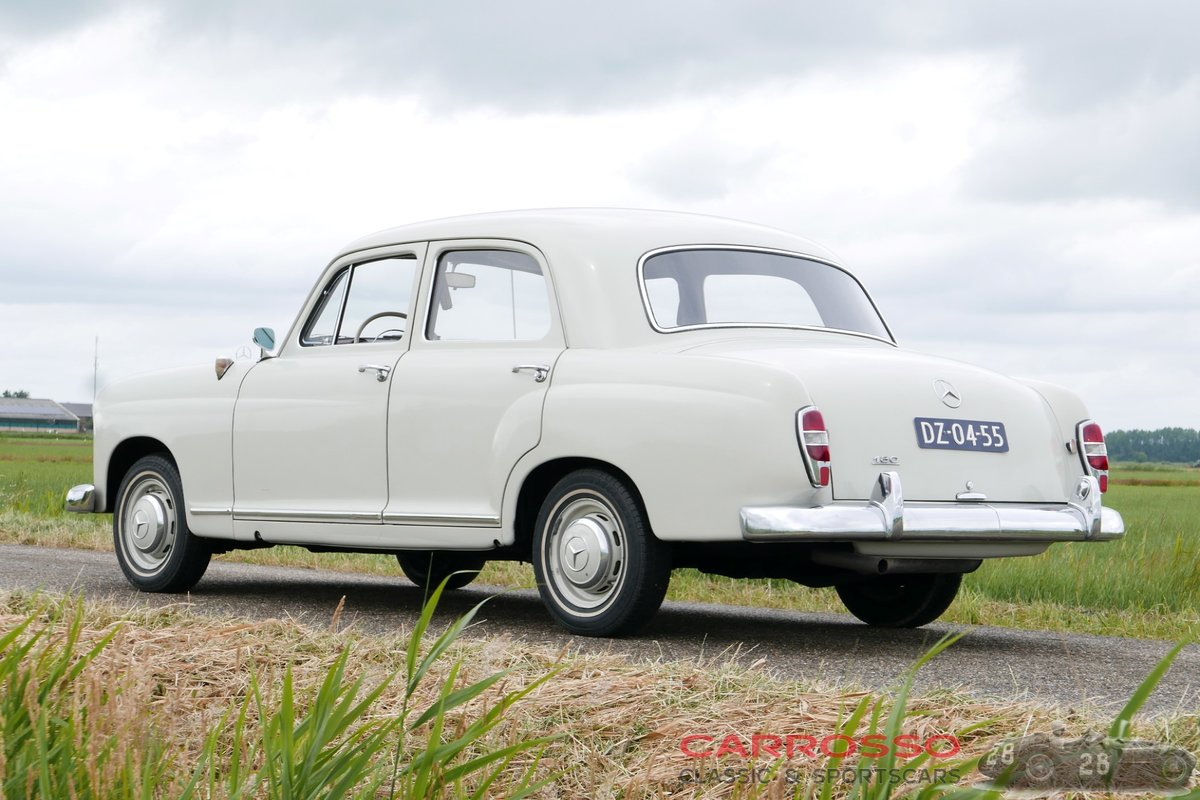 1960 Mercedes Benz 180 Ponton W120 Saloon in original condition! For Sale (picture 2 of 6)