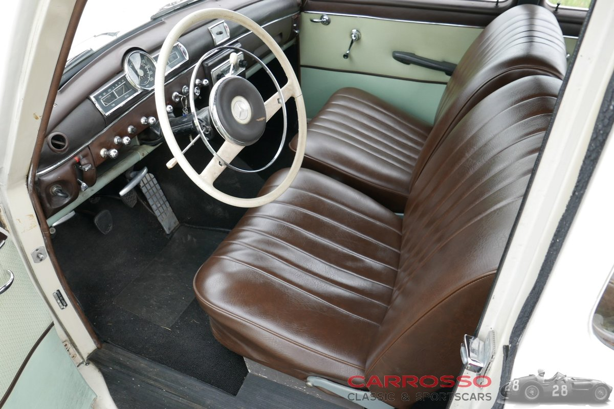 1960 Mercedes Benz 180 Ponton W120 Saloon in original condition! For Sale (picture 3 of 6)