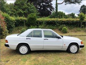 1990 Mercedes 190E 2 Litre Automatic For Sale