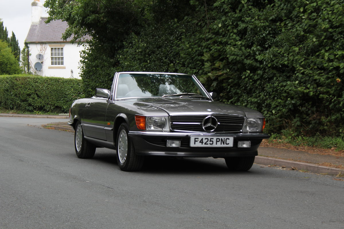 1989 Mercedes Benz 500SL - 2 owners, 70k miles For Sale (picture 1 of 20)
