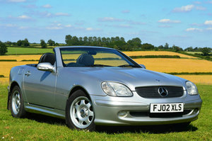 2002/02 Mercedes-Benz SLK200 2.0 Auto Convertible *F.S.H* SOLD