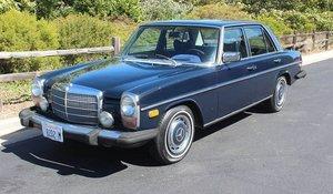 1975 Mercedes 280 Sedan = All Blue Auto 88k miles  $5k For Sale