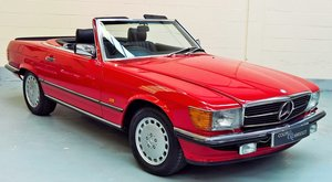 Mercedes 500SL - 1 Owner - 1988E -24500 miles.