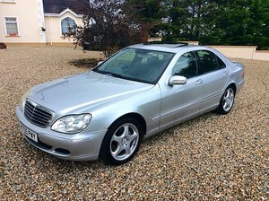 2005 MERCEDES S320 CDI TOP LUXURY - PX CLASSIC OR BIKE For Sale