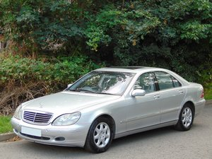 1999 Mercedes S430 Auto.. Low Miles.. One Owner.. FSH..