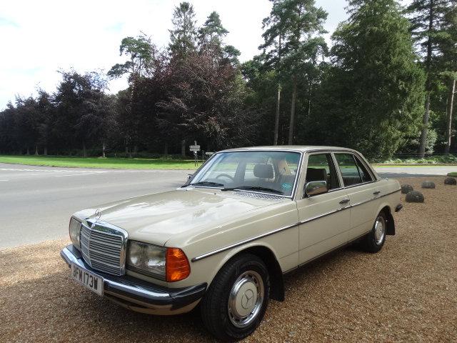 1981 MERCEDES 230E AUTO For Sale (picture 6 of 6)