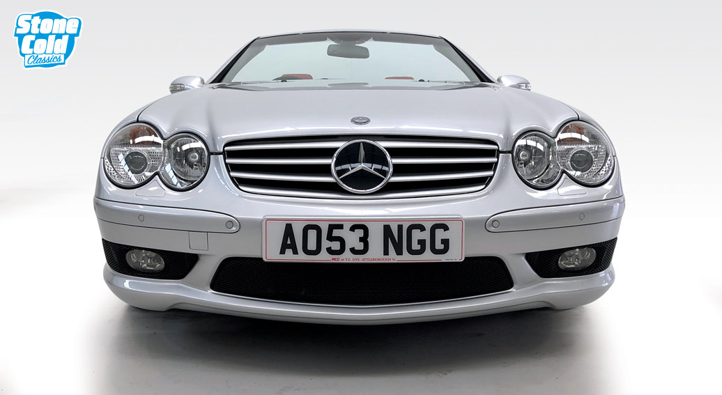2004 Mercedes SL55 AMG 1 owner 11,800 miles SOLD (picture 7 of 10)
