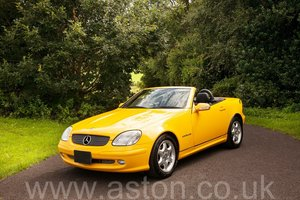 2000 Mercedes SLK 230 Kompressor SOLD
