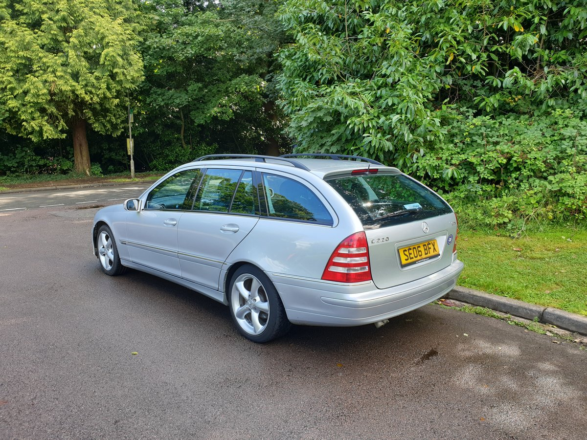 2006 Mercedes C220 CDi Estate. Avantgarde SE Sport Spec. Bargain. SOLD (picture 6 of 6)