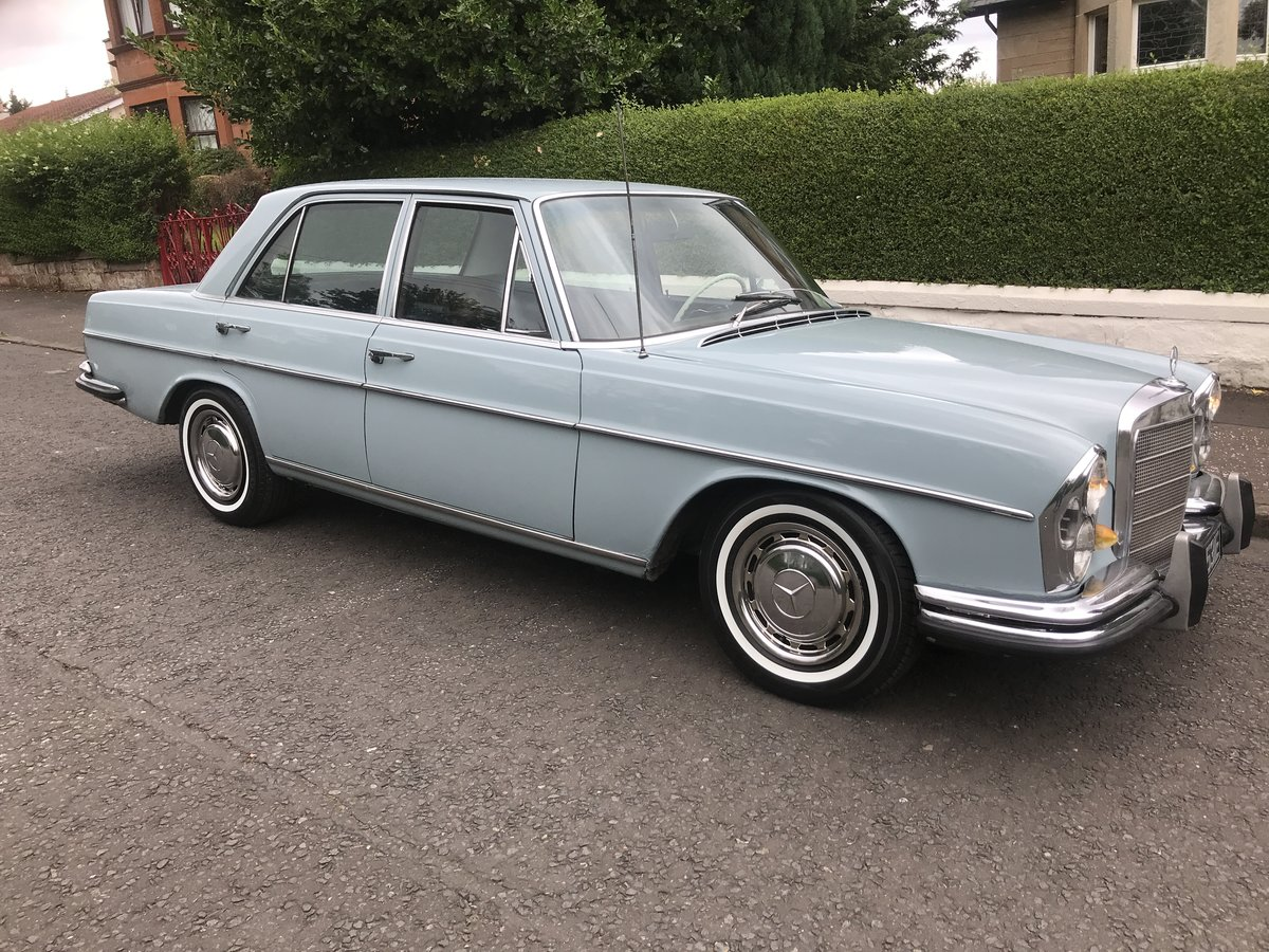 1967 Mercedes 280se california car, lhd,lovely!!!  SOLD (picture 1 of 6)