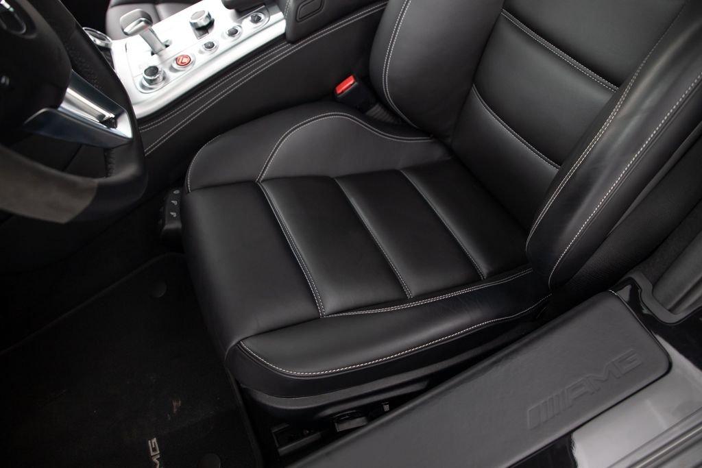 2011 11 Mercedes SLS AMG Coupe SLS AMG Black 3.7k miles $178.5k  For Sale (picture 3 of 6)