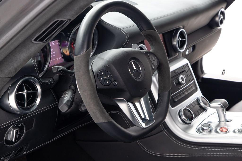 2011 11 Mercedes SLS AMG Coupe SLS AMG Black 3.7k miles $178.5k  For Sale (picture 4 of 6)