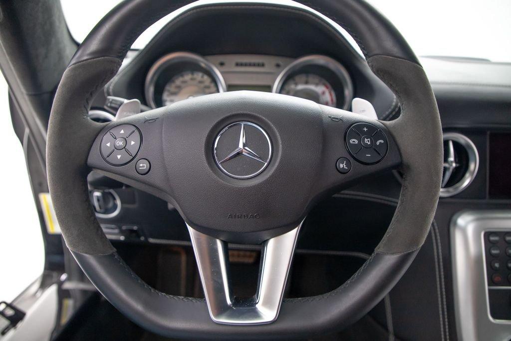 2011 11 Mercedes SLS AMG Coupe SLS AMG Black 3.7k miles $178.5k  For Sale (picture 5 of 6)