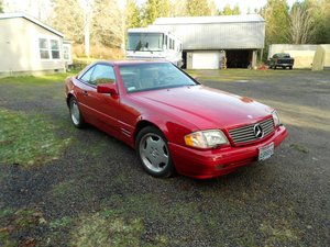 1996 Mercedes Benz 320SL - Lot 954 For Sale by Auction