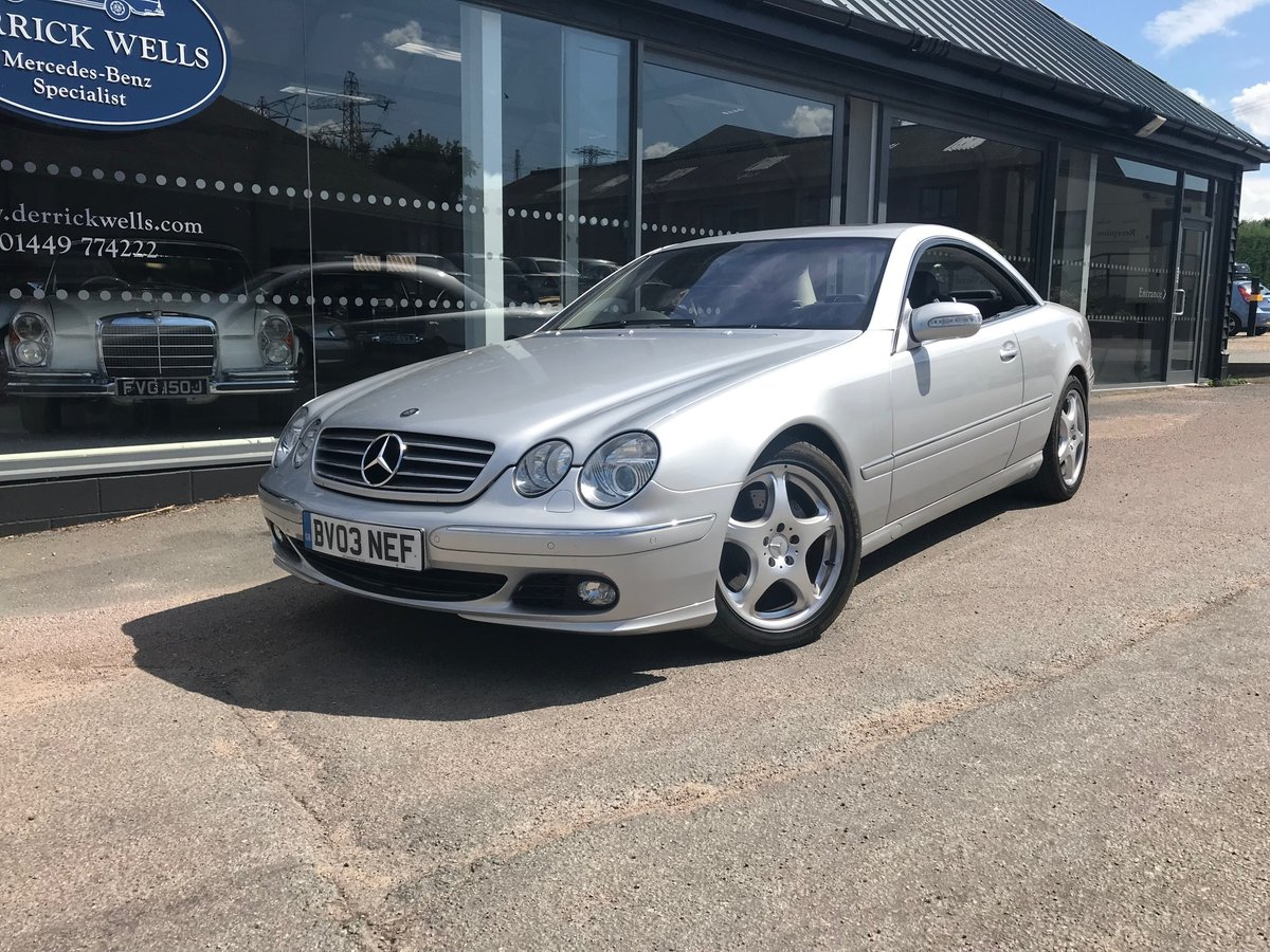 2003 Mercedes-Benz CL 500 For Sale (picture 1 of 6)