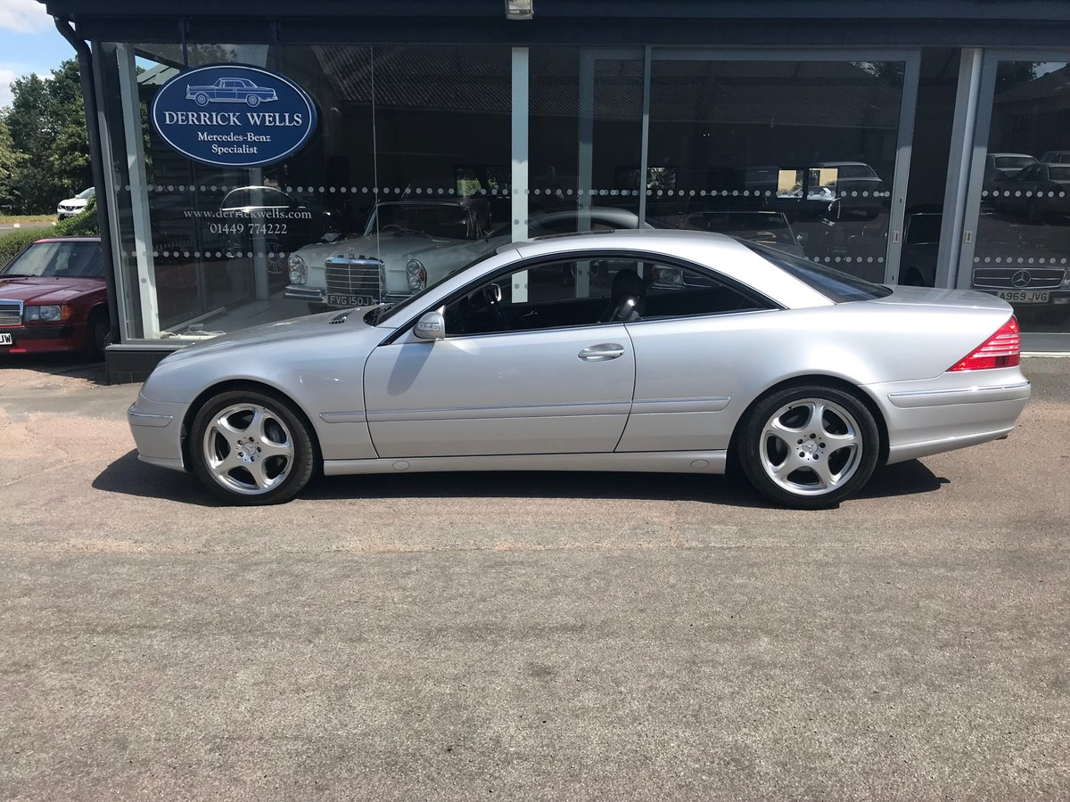 2003 Mercedes-Benz CL 500 For Sale (picture 2 of 6)