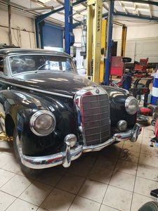 1955 Mercedes 300B Adenauer right hand drive For Sale