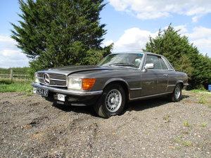 1981 Mercedes 380 SLC - LHD - UK Reg SOLD