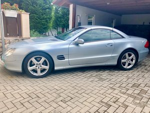 2002 MERCEDES BENZ SL500 SOLD