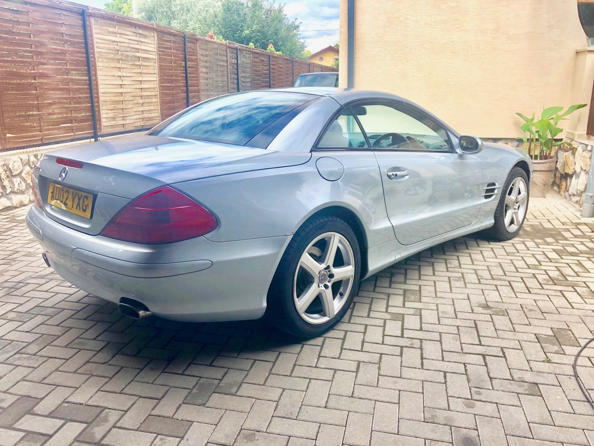 MERCEDES BENZ SL500 For Sale (picture 4 of 6)