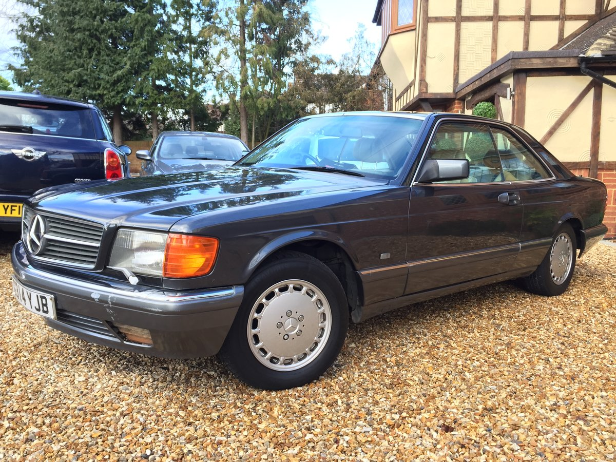 1989 Mercedes 500 SEC For Sale (picture 1 of 6)