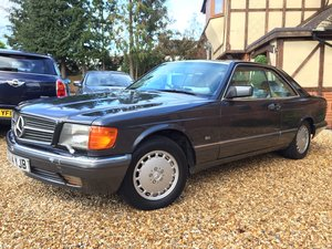 1989 Mercedes 500 sec For Sale