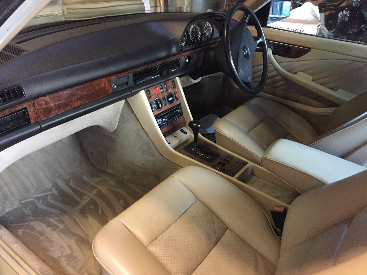 1989 Mercedes 500 SEC For Sale (picture 5 of 6)