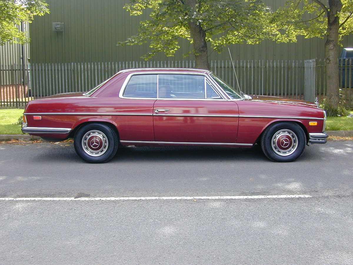 1971 MERCEDES BENZ W114 250c Coupe Auto LHD Ex USA - Fresh Import For Sale (picture 2 of 6)
