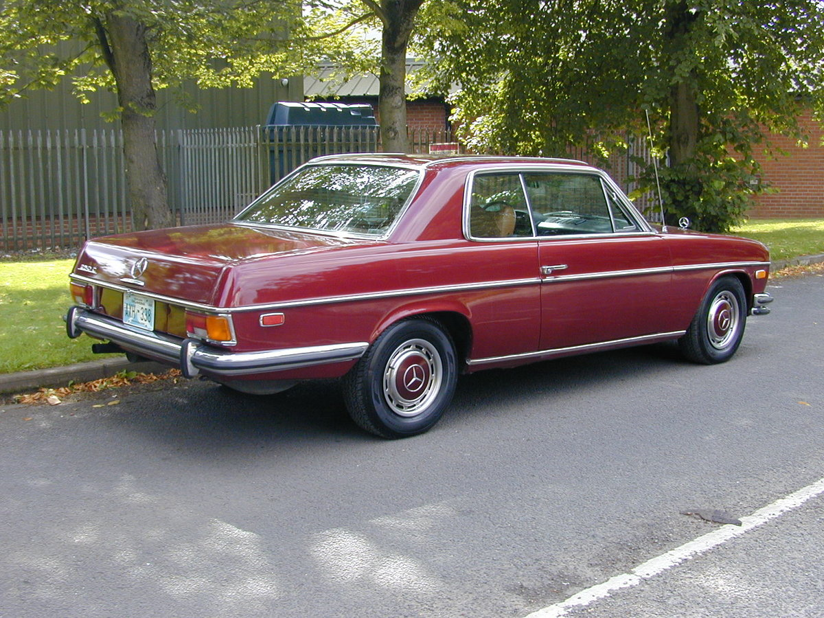 1971 MERCEDES BENZ W114 250c Coupe Auto LHD Ex USA - Fresh Import For Sale (picture 3 of 6)