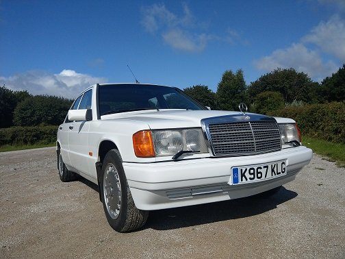 1992 Mercedes 190E Very Clean Drives Beautifully For Sale (picture 1 of 6)